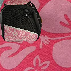 Transpack ICE Skate BackPack - Pink Floral