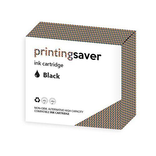 Printing Saver HP 21 XL SCHWARZ (1) Tintenpatrone fur HP Deskjet 3910, 3915, 3918, 3920, 3930, 3930v, 3938, 3940, 3940v, D1330, D1360, D2330, D2360, D2460, F340, F350, F370, F380, F390, F394, F2100, F2180, F2185, F2187, F4100, F4172, F4175, F4180, F4188, F4190, F4194, Fax 1250, Officejet 4300, 4312, 4315, 4317, 4319, 4355, PSC 1400, 1401, 1402, 1403, 1406, 1408, 1410, 1410v, 1410xi, 1415, 1417 drucker - Kompatibler Ersatz