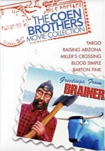 The Coen Brothers Movie Collection (Fargo / Raising Arizona / Miller's Crossing / Blood Simple / Barton Fink) [Import]