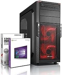 Ultra 6-Kern DirectX 12 Gaming-PC Computer FX 6300 6x4.10 GHz Turbo - GeForce GTX950 2GB DDR5 - 16GB DDR3 1600 - 1TB HDD - Windows10 Prof - DVD±RW #5041