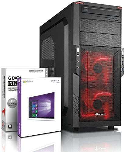 Ultra 8-Kern DirectX 12 Gaming-PC Computer FX 8320E 8x4.00 GHz Turbo - GeForce GTX960 4GB DDR5 - 16GB DDR3 1600 - 1TB HDD - Windows10 Prof - DVD±RW - USB 3.0 #4972