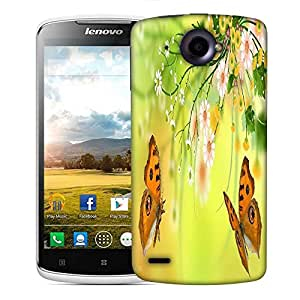 Snoogg butterfly around the summer 2601 Designer Protective Back Case Cover For Lenovo S920