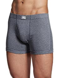 ONN Premium Wear Men's Cotton Trunks (BD355085_Grey Melange_M )