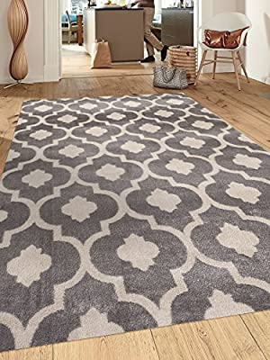 Moroccan Trellis Contemporary Indoor Area Rug