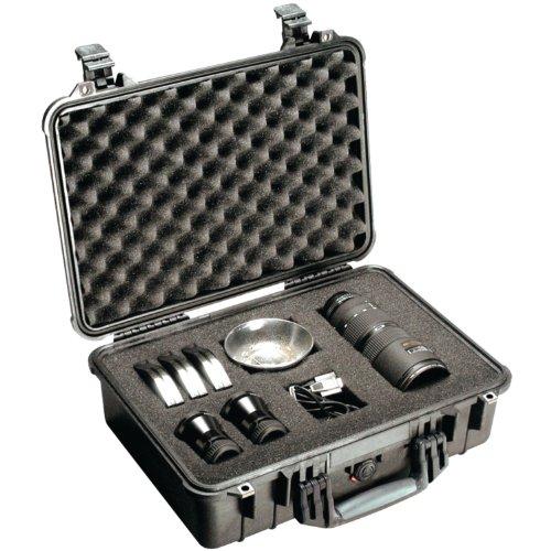 PELICAN ハードケース 1504 ディバイダータイプ 9.6L ブラック 1500-004-110
