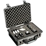 1504 Hard Case W/Lid & Padded Dividers Black
