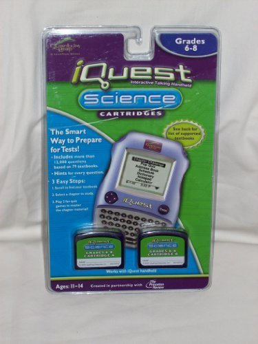 iQuest Cartridge Science - Grades 6-8