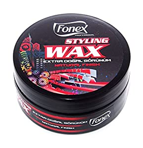 Fonex Styling Wax Natural Finish 150ml