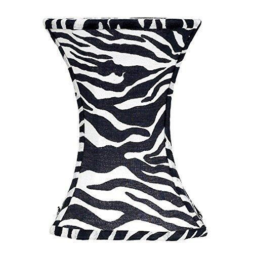 Jubilee Collection 3430 Hourglass Shade, Medium, Zebra