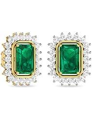 WearYourShine By PC Jeweller The Ishbel Collection 18k Yellow Gold And Diamond Stud Earrings