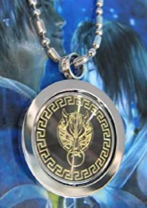 Final Fantasy 7AC: Cloud Wolf Spinning Charm Necklace