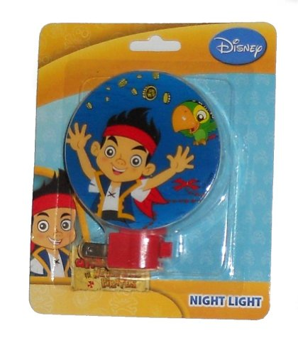 Jake and the Neverland Pirates Night Light (Jake with Parrot)