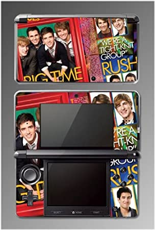 Big Time Rush BTR Concert Music Game Vinyl Decal Cover Skin Protector #5 for Nintendo 3DS