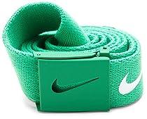 Nike Mens Tech Essential Belt, Stadium Green, One Size