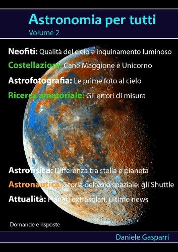 Astronomia per tutti volume 2 PDF