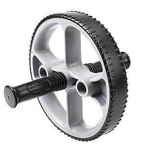 HiHiLL AB Roller Wheel, Rueda para Entrenamiento Abdominal,Ejercitador del Cuerpo para el entrenamiento de los músculos de brazos, hombros y espalda (ABR-01)