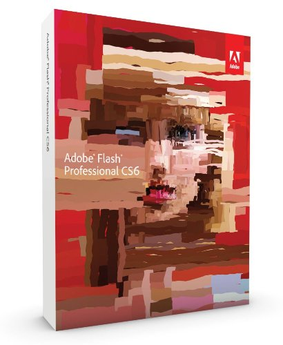 Adobe Flash Pro CS6, Upgrade Version from Flash Pro CS5 (PC)