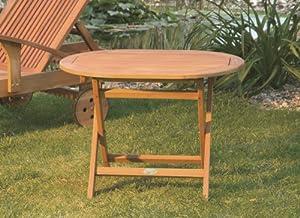 Garden Hardwood Occasional Oval Side Table