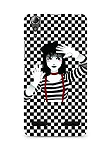 Amez designer printed 3d premium high quality back case cover for Lenovo A6000 (Beautiful Girl)