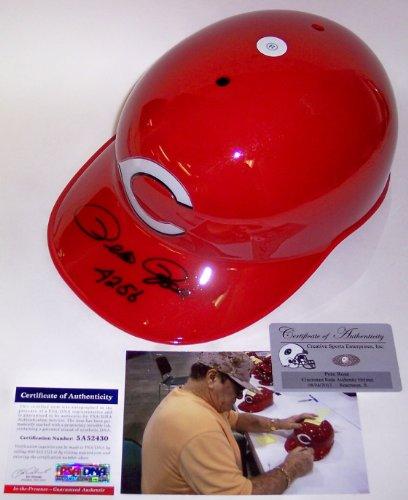 Pete Rose Autographed Hand Signed Cincinnati