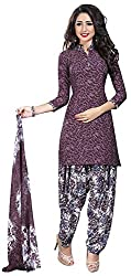 Offo*com Women's Synthetic Dress Material (1051)