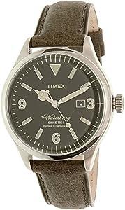 Timex Men's TW2P75000AB Heritage Collection Analog Display Quartz Brown Watch