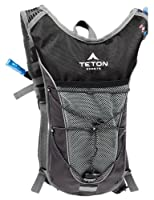 TETON Sports Trailrunner 2.0 Hydration Backpack w/ Bladder (16.5&quot;x 10.5&quot;x .7&quot;, Black) from Teton Sports