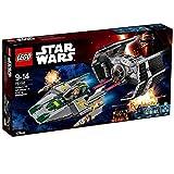 レゴ (LEGO) スター・ウォーズ ダース・ベイダーのTIEアドバンスト vs Aウィング・スターファイター 75150