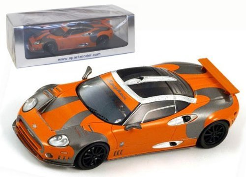 spyker-c8-rabioretto-lm-85-08-orange-base-1-43-s2152-japan-import