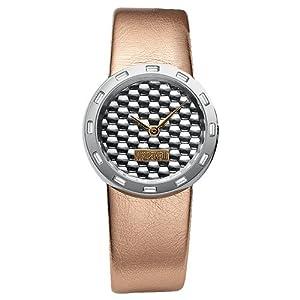 Just Cavalli Women's R7251115515 Glow Quartz Silver Dial Watch