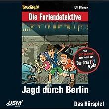 Jagd durch Berlin (Die Baadingoo Feriendetektive) Hörspiel von Ulf Blanck Gesprochen von: Patrick Bach, Valentin Stilu, Jennifer Böttcher