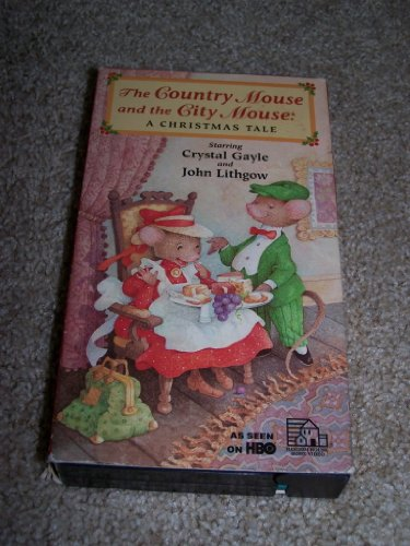 The Country Mouse and the City Mouse: A Christmas Tale: (Repackaged with Christmas ornament, Kids First Award winner, Parents' Choice Aw ard for Multimedia) [VHS]