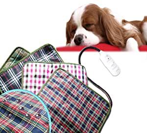Generic Pet Electric Waterproof Heat Heated Heating Heater Pad Mat Blanket Bed Dog Cat 20W (220V)