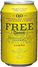Free Damm Cerveza con Limón - 33 cl