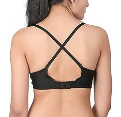 BODYCARE Silky Seamfree Daily Wear Bra ( Bodycare-5554_13_Black_38 B)