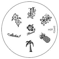 Konad Image Plate Nail Art - M29
