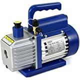 Zeny® Single-Stage 4CFM Electric Rotary Vane Deep Vacuum Pump Refrigerant R410a R134a HVAC Air Conditioner (#02)