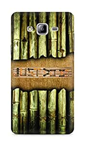 Amez designer printed 3d premium high quality back case cover for Samsung Galaxy ON7 (Bamboo Just do it)