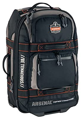 Arsenal GB5125 Wheeled Luggage - Black from Ergodyne