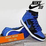 NIKE(ナイキ) ダンク ハイ プロ DUNK HIGH PRO SB Black/Game Royal-Black/メンズ(men's) 靴 スニーカー (305050-018)