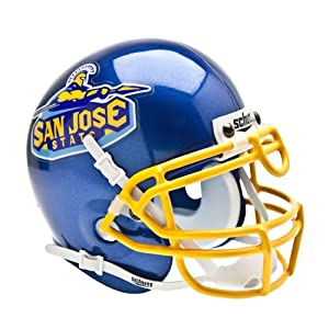 Buy NCAA San Jose State Spartans Collectible Mini Helmet by Schutt