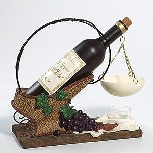 Yankee Candle Hanging Tart Wax Melts Warmer Burner - Wine Bottle