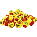 Gamma Sports Pressureless Practice Tennis Balls - Pack Of 60