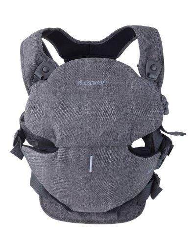 Maxi-Cosi 26507588 - Easia, Babytrage - Bauchtrage bis 12 kg, black denim