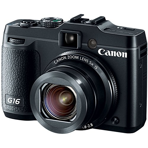 Canon PowerShot G16 12.1 MP CMOS Digital Camera with 5x Optical Zoom and 1080p Full-HD Video Wi-Fi Enabled(Certified Refurbished) (Canon Powershot Sx 510 compare prices)