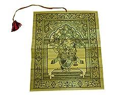 Sanskrite India Pattachitra Painting Radhe Krishna Design Palm Leaves Handcrafted Odisha Art Dcor