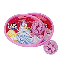 Disney DI2001 Princess Plastic Catch Ball, Kid's (Pink)