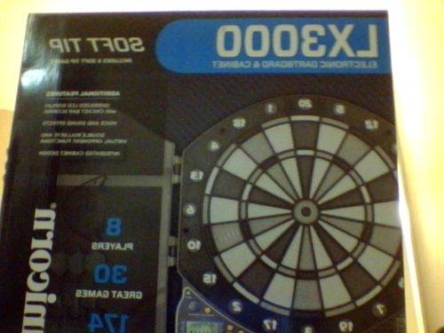 Lx3000 Electronic Dartboard & Cabinet