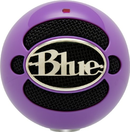 Blue Microphones Snowball Usb Microphone (Wicked Purple)
