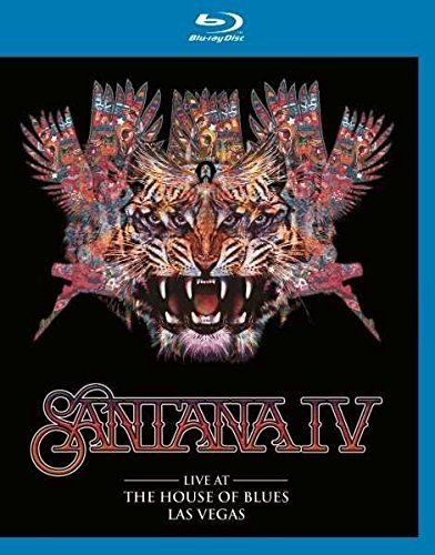 Blu-ray : Santana IV - Live At The House Of Blues Las Vegas (United Kingdom - Import)